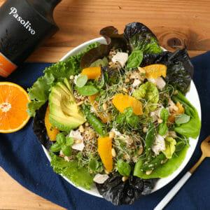 Pesto Chicken Citrus Quinoa Salad