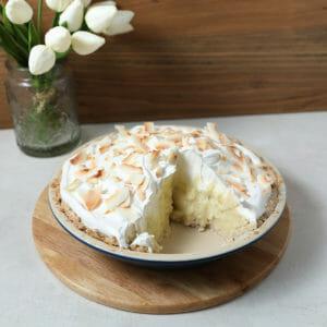 The Ultimate Dairy Free Coconut Cream Pie