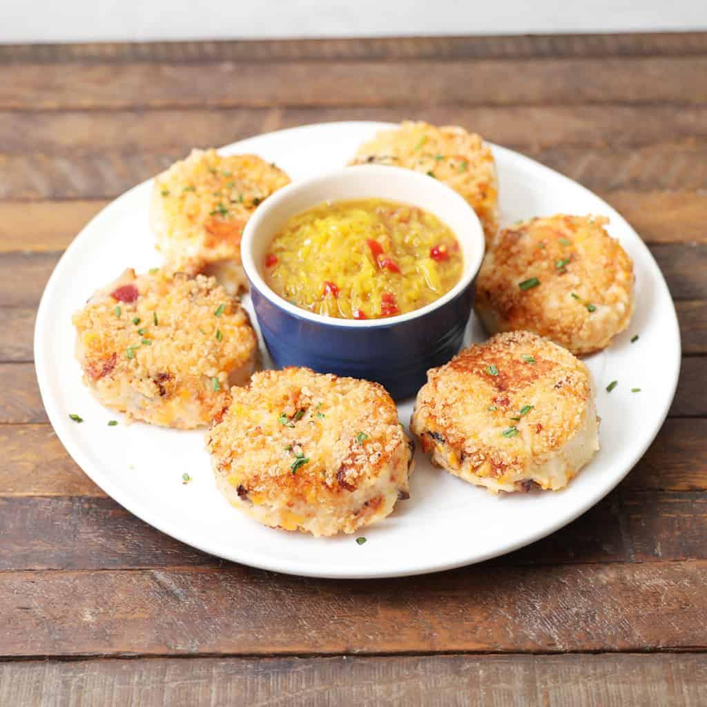 Gluten Free Cheesy Bacon Croquettes