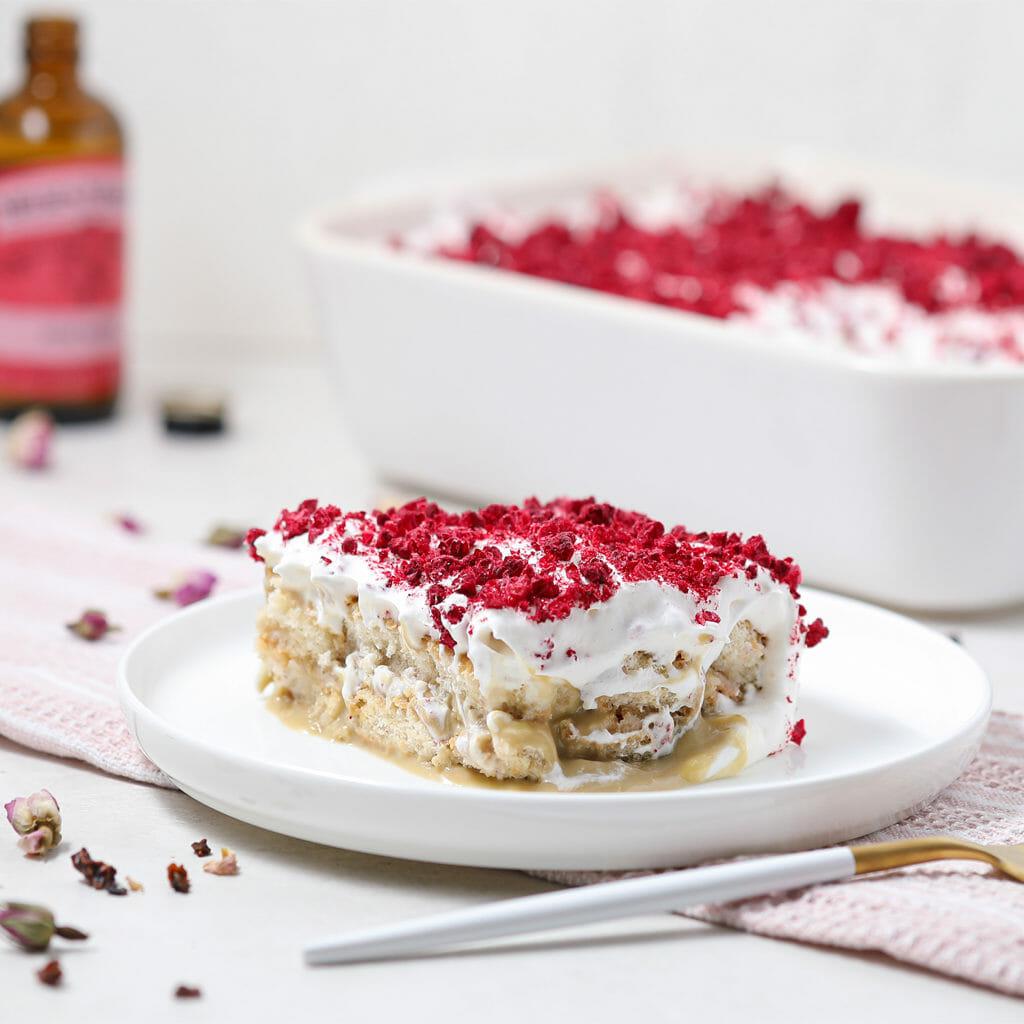 Gluten Free Raspberry Pistachio Tiramisu