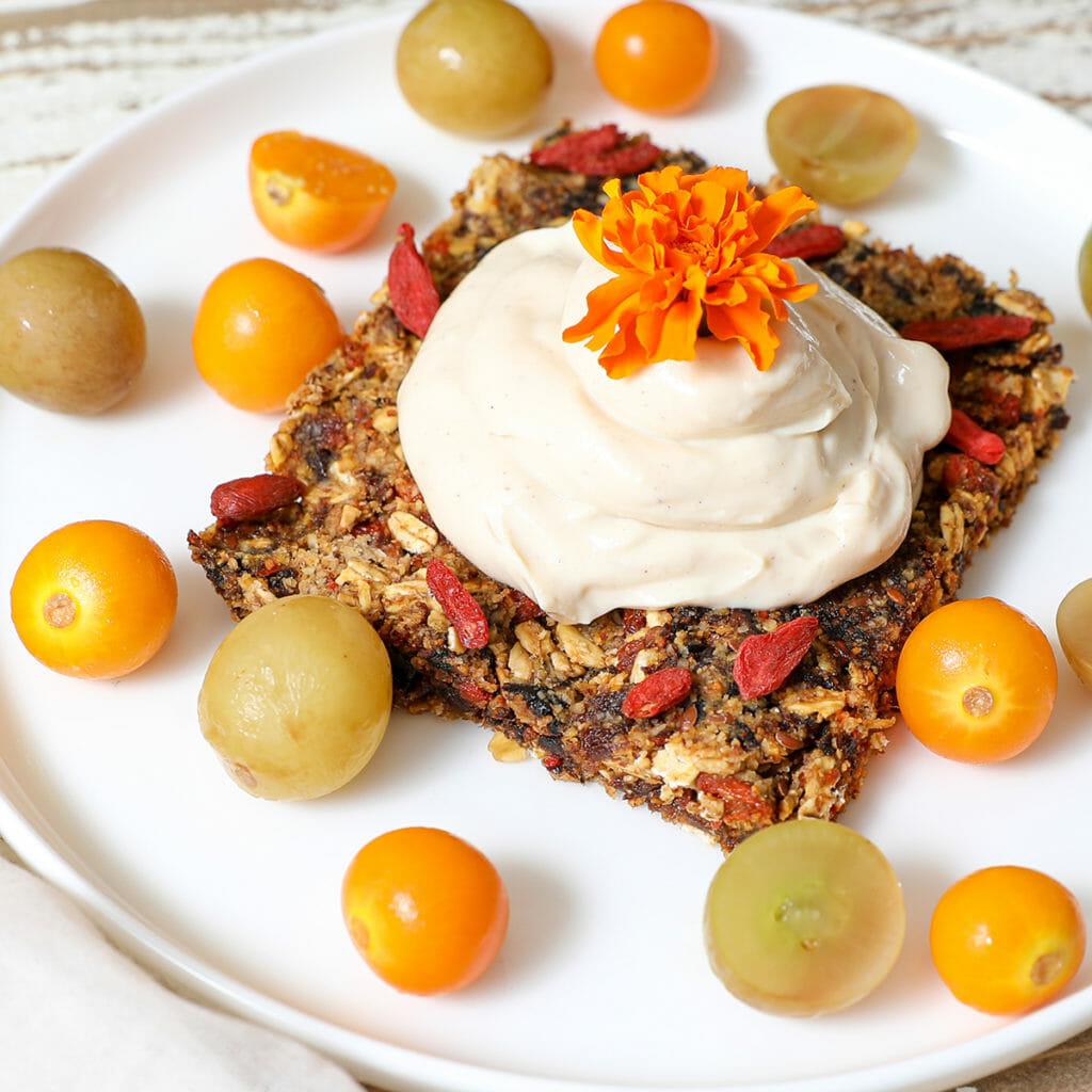 Gluten Free Goji Berry Tartlet Parfait