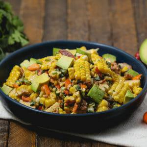 Colorful Tex-Mex Bacon Corn Salad