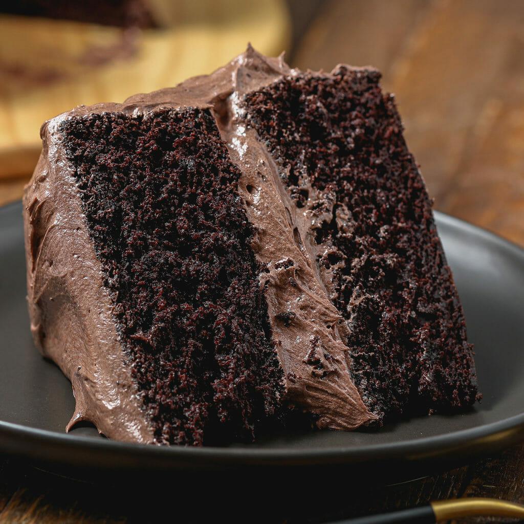 Ultimate Decadent Gluten Free Chocolate Cake