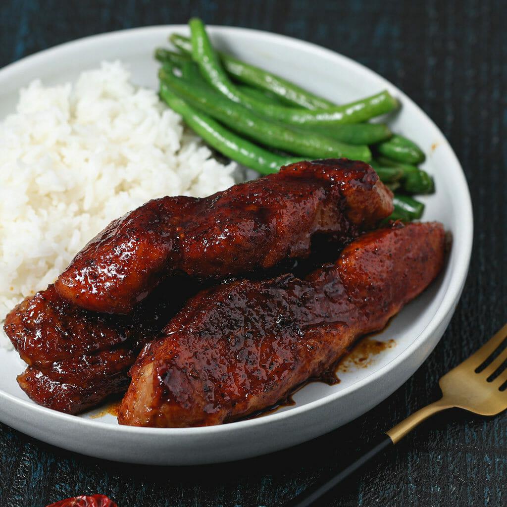 Gluten Free Korean Barbecue Country Pork Ribs