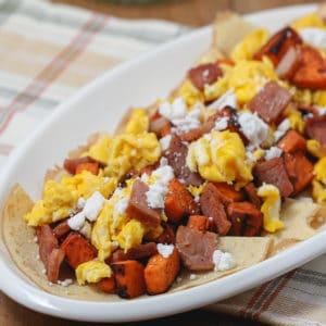 Gluten Free Easy Savory Breakfast Crepes